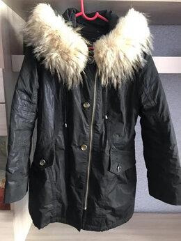 Куртки - Куртка удлинённая со съёмным подкладом из кролика, 0