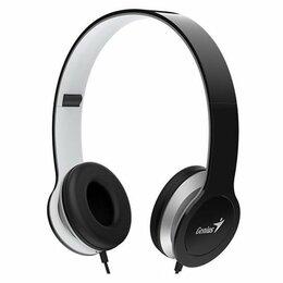 Компьютерная акустика - Наушники с микрофоном Genius HS-M430 Black, 0
