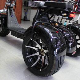 Самокаты - Электросамокат CityCoco GT Trike Pro 2000W 20Ah, 0