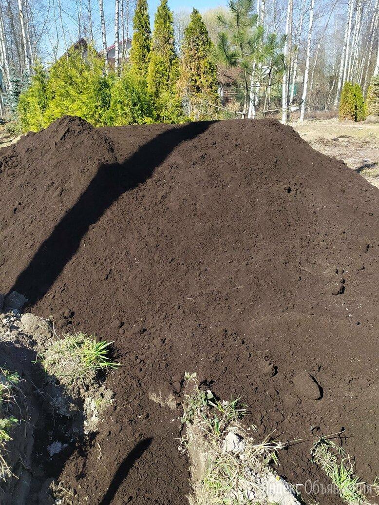 Земля плодородная сеяная по цене 13000₽ - Субстраты, грунты, мульча, фото 0