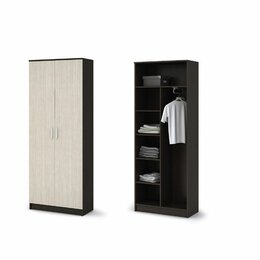 Шкафы, стенки, гарнитуры - Прихожая «Машенька» Шкаф 2х створчатый шк-204, 0