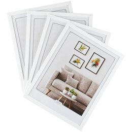 Фоторамки - Набор рамок МДФ 30*40см, OfficeSpace, 4шт., белый, 0