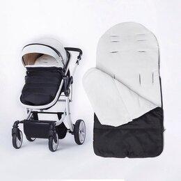 Конверты и спальные мешки - Новый конверт #1 для коляски (черный с белым), 0