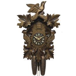 Часы настенные - Часы настенные деревянные с кукушкой коричневые 0632/8, 0