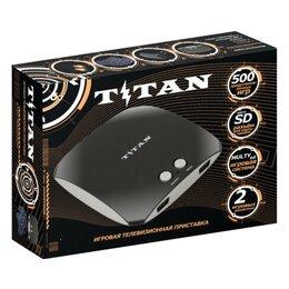 Игровые приставки - Приставка Магистр Titan 500 игр черный, 0