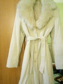 Пальто - Пальто женское вельветовое (демисезон), 0