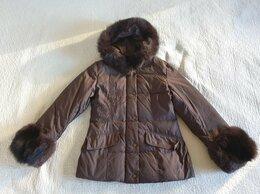 Куртки - Куртка зимняя с песцом р.44-46, 0
