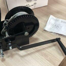 Грузоподъемное оборудование - Лебедка ручная LBW-B 2500 (г/п 1,0т, длина 20 метров) черная, 0