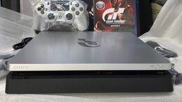 Игровые приставки - PS4 Slim 1Tb Gran Turismo Edition. Новая. Обмен, 0