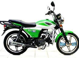 Мототехника и электровелосипеды - Мопед Alpha RX 11, 110 см3. green/white, без гаи, 0