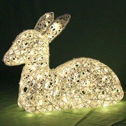 Новогодний декор и аксессуары - Светодиодный олень, олененок - световая фигура, 0
