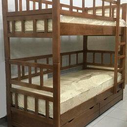 Кровати - Кровать массив бука, 0