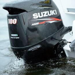 Двигатель и комплектующие  - Лодочный мотор Suzuki DF 100 AT, 0
