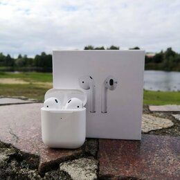 Наушники и Bluetooth-гарнитуры - AirPods 2 (Новые), 0