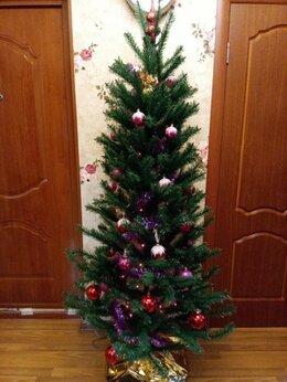 Искусственные растения - Новогодняя ёлка искусственная с игрушками и…, 0