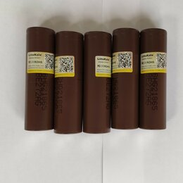 Аккумуляторные батареи - Высокотоковые аккумуляторы Liitokala 3000mAh HG2, 0