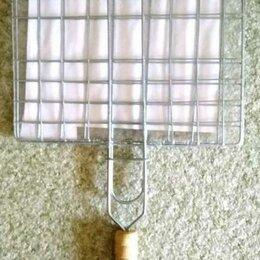 Решетки - Решетка для шашлыка, гриля, барбекю 21 х 19.5 см, 0