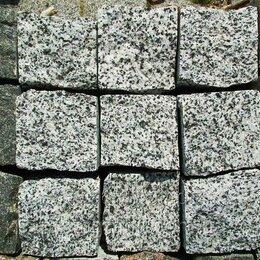 Тротуарная плитка, бордюр - Брусчатка из  гранита 300х150х60 Покостовская, 0