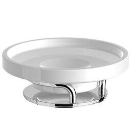Мыльницы, стаканы и дозаторы - Мыльница керамика настольная Lanberger 10917А, 0