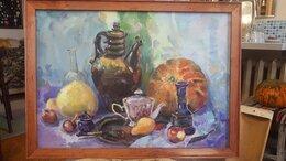 Картины, постеры, гобелены, панно - Картина маслом на холсте Натюрморт , 0