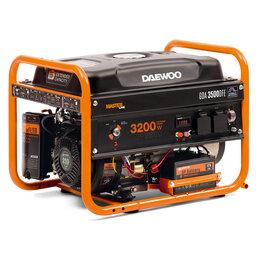 Электрогенераторы - Генератор двухтопливный DAEWOO GDA 3500DFE, 0