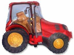 Машинки и техника - Трактор, красный, 0