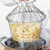 Складная решетка шеф баскет chef basket для приготовления пищи по цене 670₽ - Туристическая посуда, фото 3