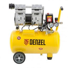 Воздушные компрессоры - Безмасляный компрессор DENZEL DLS950/24, 0