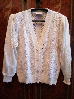 Блузки и кофточки - женский ажурный жакет, 0