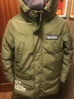 Куртки и пуховики - Пуховик на мальчика, горнолыжный, , 0