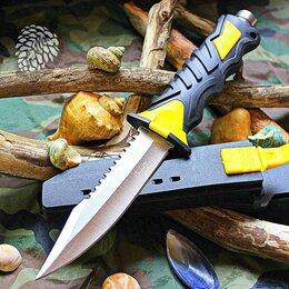Ножи и мультитулы - Нож для дайвинга Stainless Trapper Yellow, 0