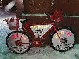 Рекламные конструкции и материалы - Реклама на велосипедах, велосипеды с рекламой, 0