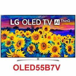 """Телевизоры - 55"""" 4K OLED Smart TV LG OLED55B7V 120Гц / 10bit, 0"""