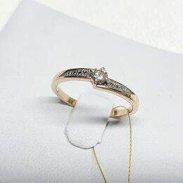 Кольца и перстни - Золотое колечко с бриллиантами , 0