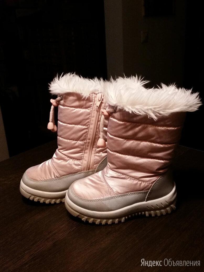 Сапожки зимние для девочки р-р. 26 по цене 400₽ - Сноубутсы, дутики, фото 0