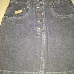 Юбки - Новая джинсовая оригинальная мини  юбка 26-28 размеров, 0