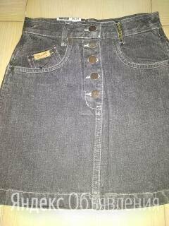 Новая джинсовая оригинальная мини  юбка 26-28 размеров по цене 1200₽ - Юбки, фото 0