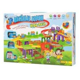 Детские железные дороги - Игра-пазл Веселые горки,веселые горки Tong DE., 0