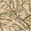 Гравированная кабинетная карта 1758 года России и северных стран S6710 по цене 220000₽ - Гравюры, литографии, карты, фото 11