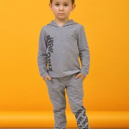 Одежда и обувь - Комплект Зиронька 64-8018-2 (джемпер+брюки) р.98-128 см серый (128 см), 0