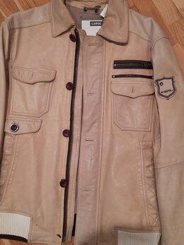 Куртки - Мужская молодежная кожаная куртка ENERGIE, 0