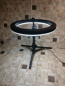 Фотовспышки - Кольцевая лампа 26см +штатив 45см, 0