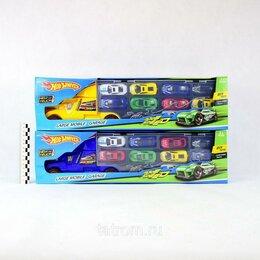 Игровые наборы и фигурки - Игровой набор автовоз Hot Wheels инерционный, машинки 10 шт., 0