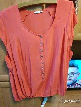 Блузки и кофточки - невесомая коралловая х/б блузка, 0