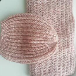 Головные уборы - Комплект шапка и шарф снуд , 0