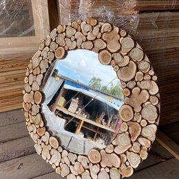Зеркала - Зеркало из спилов Можжевельника, 0