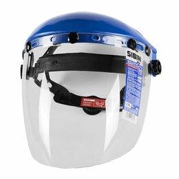 Спортивная защита - Щиток защитный лицевой СИБИН с экраном из поликарбоната храповый механизм, 0