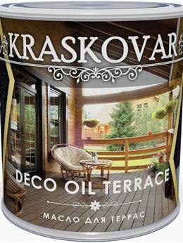 Масла и воск - Масло для террас Kraskovar Deco Oil Terrace, 0