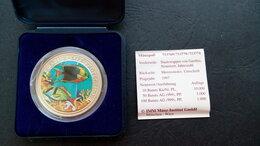 Монеты - Цветная редкая коллекционная монета Гамбия 10…, 0