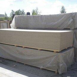Древесно-плитные материалы - ЦСП цементно-стружечная плита 3200х1250х12мм, 0